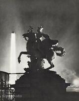 1926 Original MAN RAY Horse Sculpture Pegasus Statue Paris Photo Gravure Art