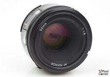 Nikon 50mm f/1.8 AF Nikkor standard prime lens Japan Nice! FX compatible 2058369