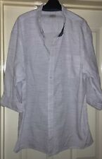 ACW85 Men's Blue Striped Shirt, Size XXL - Lovely!