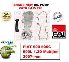 Pour Fiat 500 500C 500L 1.3D Multijet 2007- > Tout Nouveau Fai Pompe à Huile