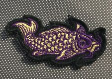 Steel Flame Purple/Gold Koi Morale Patch