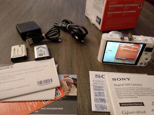Sony Cyber-shot DSC-WX350 -Compact - White