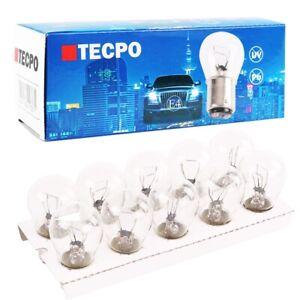 10x TECPO BAY15D P21/5W KUGELLAMPE 12V 21/5W AUTOLAMPE GLÜHBIRNE GLÜH-LAMPE