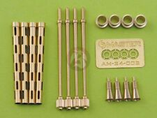 Master 1/24 Browning .303 Mk.II 7.7mm Gun Barrels British RAF (4 pcs) AM-24-001
