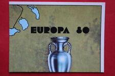 Panini EUROPA 80 n. 3 MAP WITH BLACK BACK VERY GOOD!!