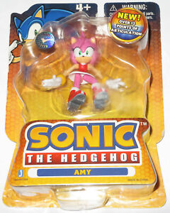 """3"""" JAZWARES *SEALED NEW MOC* AMY ROSE TOYS R US EXCL FIGURE SONIC THE HEDGEHOG!"""