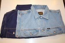 Diesel Jeansweste LEO stone blau und dark blue neu Saddle Vintage