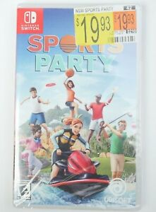 SPORTS PARTY NINTENDO SWITCH! BRAND NEW! FAST FREE SHIPPING!