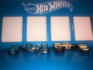 LOT OF (6) BONE SHAKER HOT WHEELS MYSTERY MODELS,FLYING TIGER,CHASE CARS!!!!!!!!