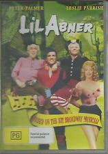 LIL ABNER - BASED ON THE BROADWAY MUSICAL STARS JERRY LEWIS NEW ALL REGION DVD