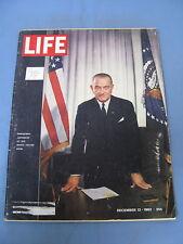 LIFE MAGAZINE DECEMBER 13 1963 THE BEATLES LYNDON B JOHNSON OPPENHEIMER TELLER