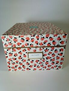 Kate Spade New York Floral Flowers Medium Storage Nesting Box
