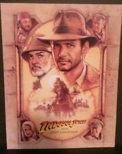 Indiana Jones and The Last Crusade, Movie Program Promotional, Authentic, 1989