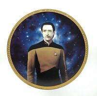 1993 Star Trek The Next Generation Lt. Commander Data Hamilton Collector's Plate