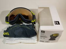 NEW Burton Anon Circuit MFI Men's Snow Goggles (SONAR Bronze S2 Lens & Facemask)