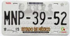 Estado De Mexico Used Expired Car Auto License Plate NMP