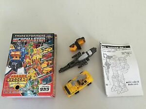 Transformers G1 2003 Digger MICROMASTER  Sixbuilder combiner reissue