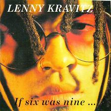 "LENNY KRAVITZ  ""IF SIX WAS NINE...""  rare cd live mint"