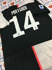 MAGLIA JUVENTUS > 14 MATUIDI - MATCH WORN INDOSSATA SERIE A 2019/20