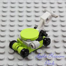 NEW Lego City Green Black Gray LAWN MOWER - Minifig/Minifigure Garden Yard Tool