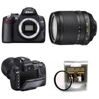 Nikon D5000 DSLR Camera 18-105mm VR Lens Kit 12.3MP 2.7inch LCD Hoya Filter 67mm