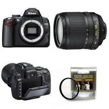 Nikon D5000 DSLR Camera 18-105mm VR Kit Obiettivo 12.3MP 2.7 Pollici LCD Hoya Filtro 67mm