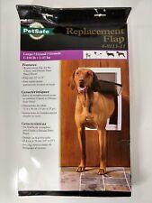 """PetSafe Single Dog Door Replacement Flap Large 10"""" x 15"""" - 4-0113-11"""