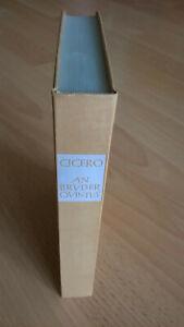 CICERO     An Bruder Quintus An Brutus..    lat/deu    Heimeran/Tusculum