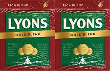 2 × Lyons Gold Blend 240 Pyramid Tea Bags 696g (480 tea bags in total)