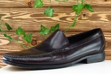 Cole Haan Shoes Sz 13 M Square Toe Brown Loafer Leather Men