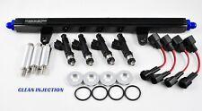 fit Nissan 180sx 240sx s13 SR20 SR20DET bosch ev14 600cc Fuel Injectors rail