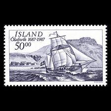 Islandia 1987-300th Aniversario De El Olafsvik Trading Estación Barcos - Sc 637