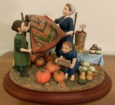 Rare Amish Heritage Collection: After the Harvest - #30071 Limited Ed. 1997