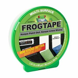 FrogTape 36mm x 55m Multi Surface Masking Tape Painting renovations DIY frog