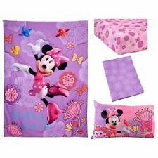 Minnie Mouse 4-Piece Toddler Bedding Set Fluttery Friends
