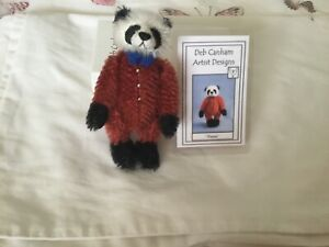 Gorgeous Miniature Deb Canham Teddy Bear Boxed Jointed Pierre