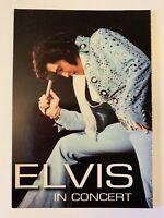 1994 ELVIS PRESLEY IN CONCERT 4x6 POSTCARD - KING OF ROCK N ROLL MUSIC -MUST SEE