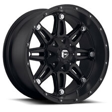 20x14 Fuel D531 Hostage Rims Black Offroad Wheels Fit Lifted Chevy Ford GMC 22
