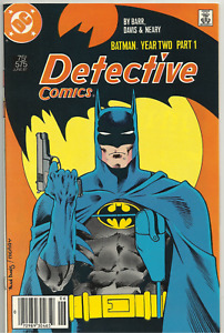 DETECTIVE COMICS 575-578 Newsstand Run Complete Todd McFarlane DC Comics 1987