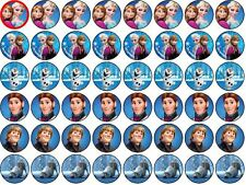 Disney Frozen Edible Rice/Wafer Paper Cupcake/Fairy Cake Toppers 48X3cm