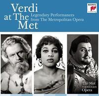 Verdi at The Metropolitan Opera (CD 20 disc) Box Set NEW