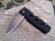 Cold Steel Hold Out III 3 Medium Folding Knife G10 TriAd Lock Serrated Rev 11hms
