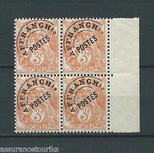 PRÉOBLITÉRÉS - 1922-47 YT 39 BLOC DE 4 - TIMBRES NEUFS** LUXE - COTE 100,00 €