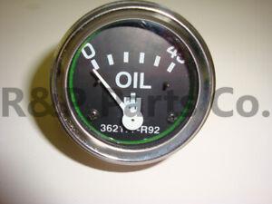 Oil Pressure Gauge for IH Farmall Diesel 350 400 450 460 560 600 650 362177R92