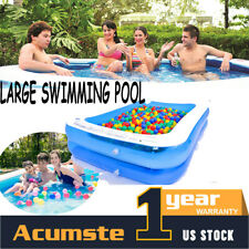 Family Swimming Pool Summer Inflatable Outdoor Garden Kids Paddling Pools Hot Us