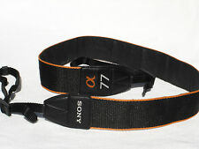 "SONY ALPHA 77 camera strap, Genuine ,  1 1/2"" Wide  A77 , @77 , A 77"