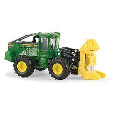 John Deere 1/50 843L Wheeled Feller Buncher Prestige Diecast Logging Toy LP53361