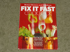 Fix It Fast Cook Book by Patricia Teberg and...Better Homes & Garden