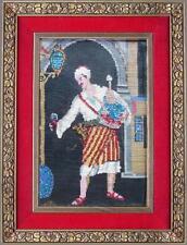 arte araba pannello Batik tappeto lana acciarino bella cornice