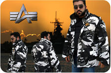 Alpha Field Jacket Coat M-65 USA Urban Camo X-Small